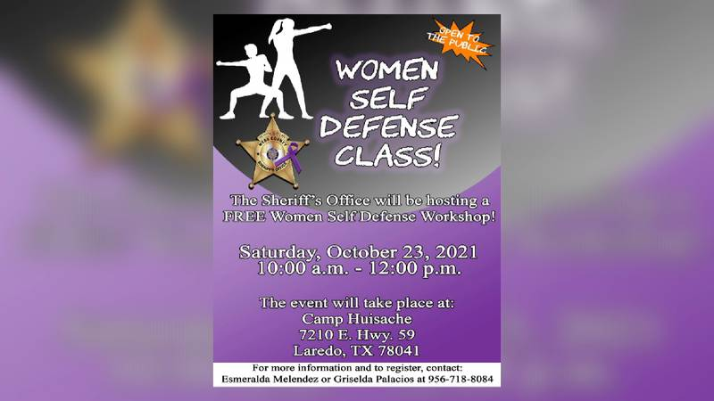 Sheriff's office to hold self defense class