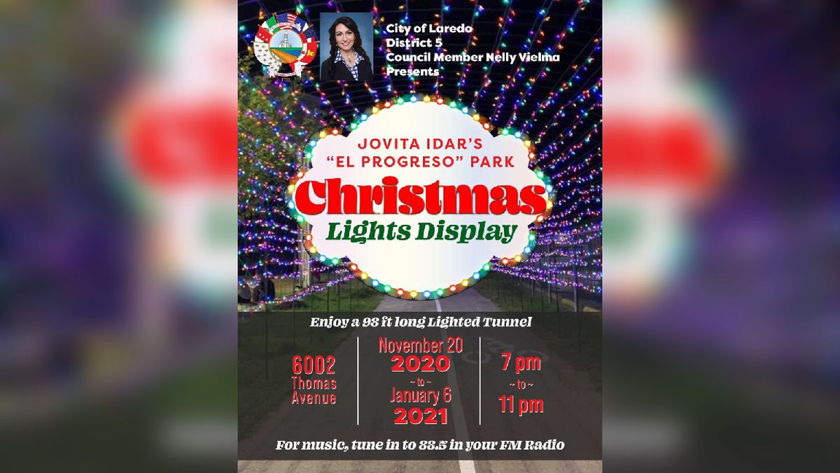 City to host Christmas Light Display
