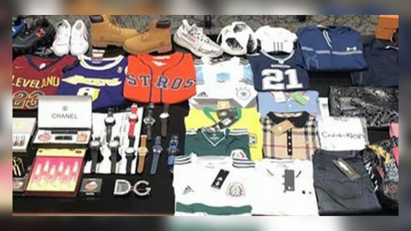 File photo: Counterfeit items seized by CBP