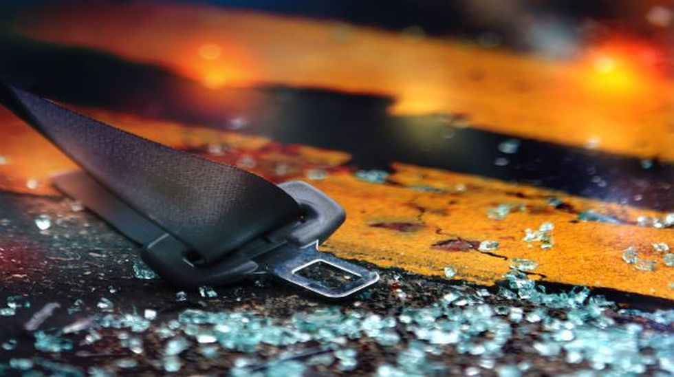 Car crash reported on I-35 and mile marker 56