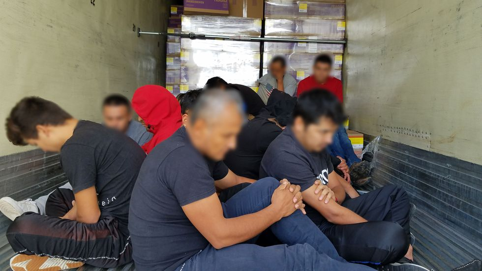 BP foils human smuggling attempt