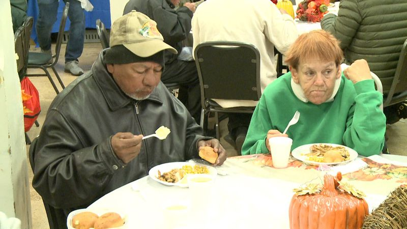 File photo: Bethany House provides warm meals to the community
