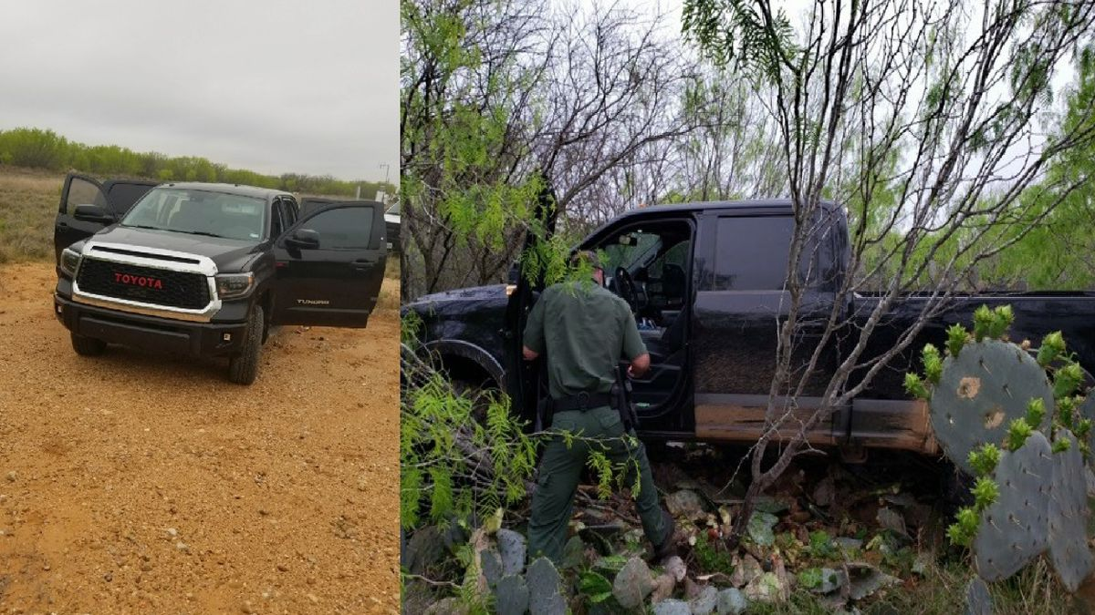Agents and authorities foil human smuggling attempt