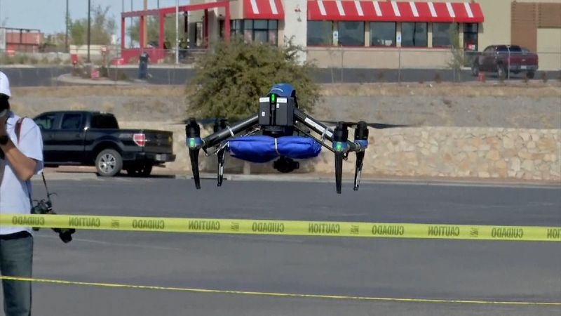 Walmart offers COVID-19 tests via drone