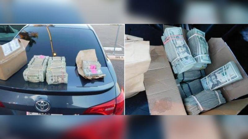 Authorities seize over $100K in cash