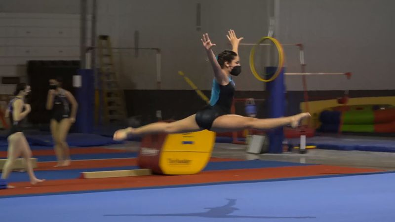 Gymnast overcomes obstacles during pandemic