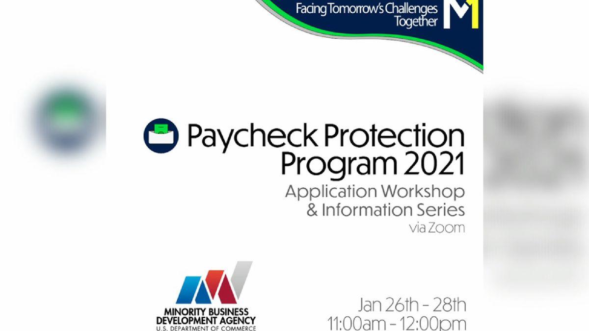 Organization hosting paycheck protection workshop