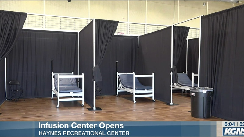 File photo: Infusion center opens