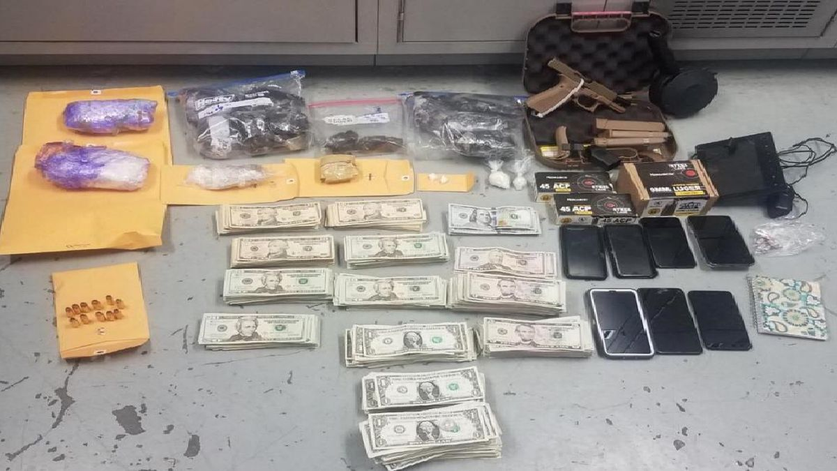 Guns, Drugs and Money found after operation