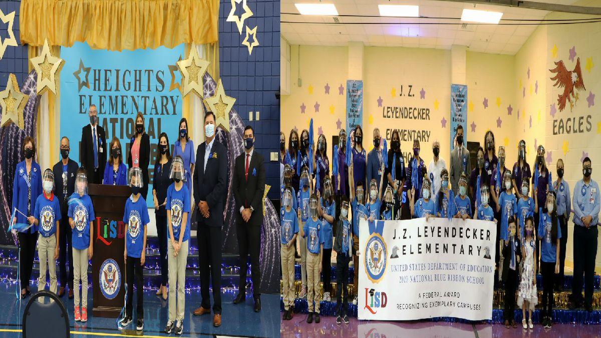 Heights Elementary and Leyendecker Elementary receive Blue Ribbon Award