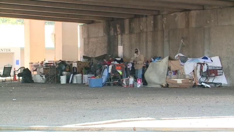 Local homeless woman addresses ban on encampments