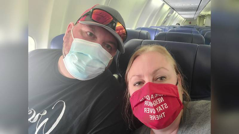 Melissa Bizeau and her husband contracted COVID-19 months after becoming fully vaccinated.