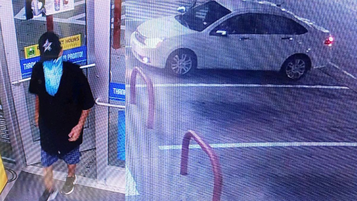 Police searching for man accused of theft