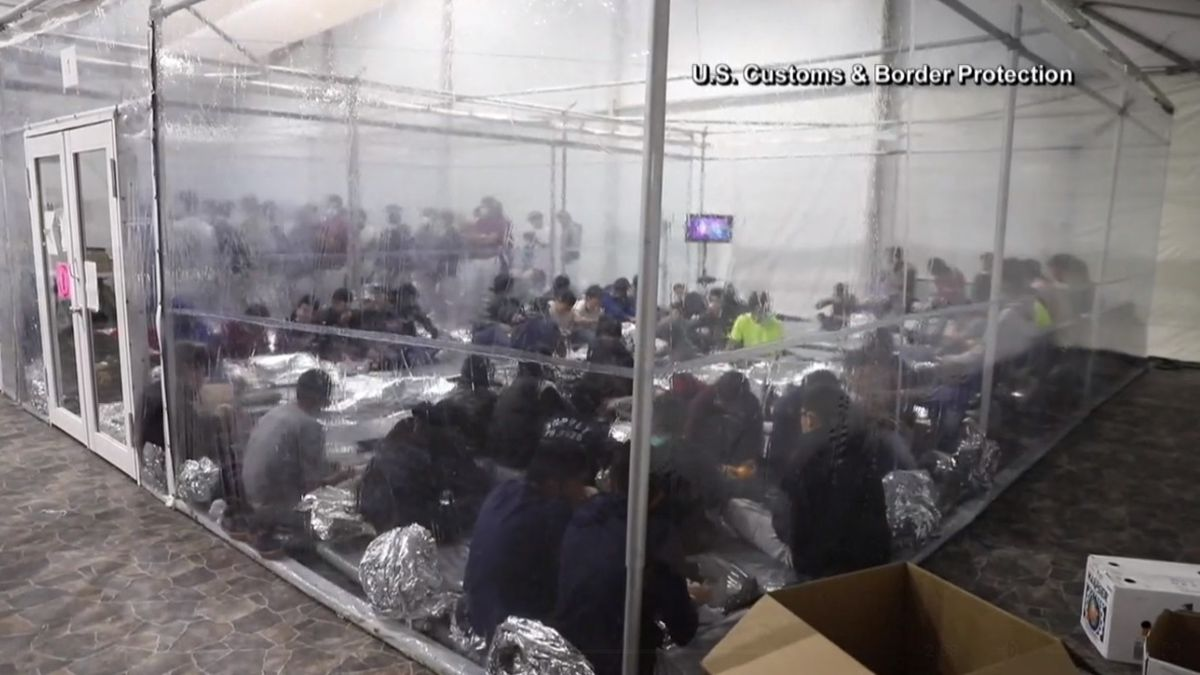 CBP releases images of Processing Center in El Paso, Texas