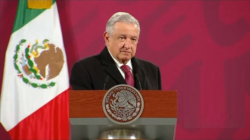 File phot: Mexican President Andres Manuel Lopez Obrador