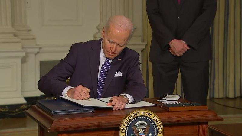"The Biden White House uses ""Climate Day"" to address global warming as it also deals with the..."