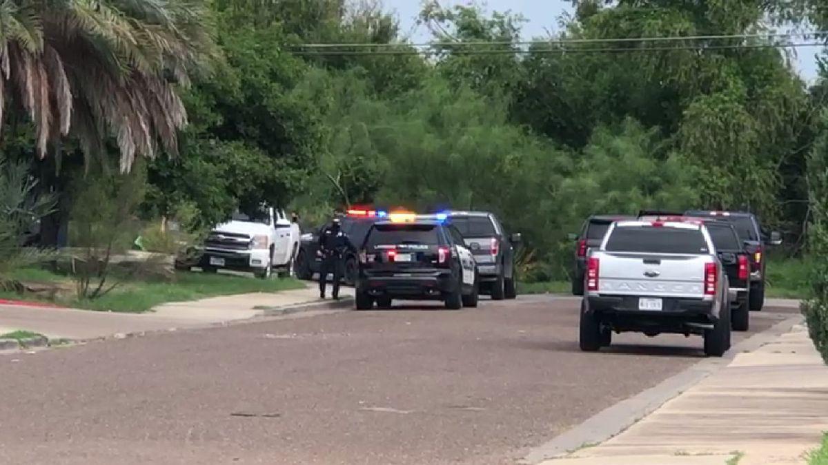 Authorities searching brush near 520 Shiloh Drive