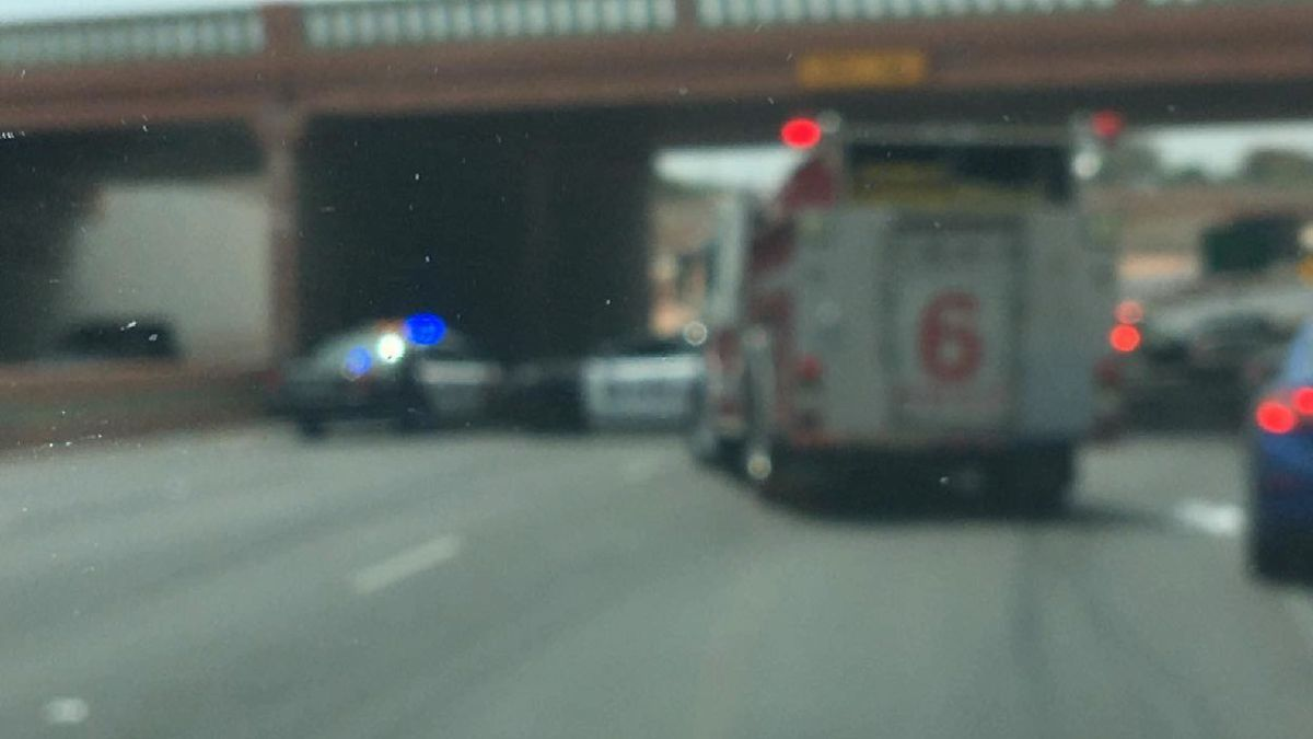 Accident reported on Highway 83 and Market