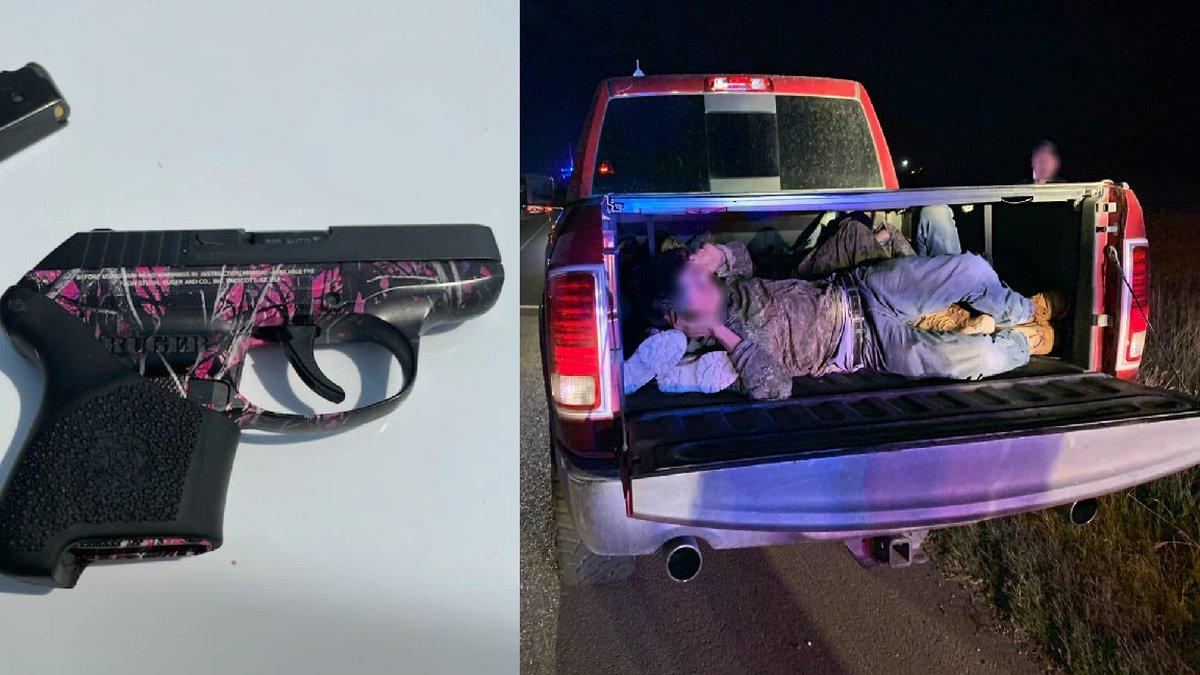 Agents seize handgun during human smuggling attempt
