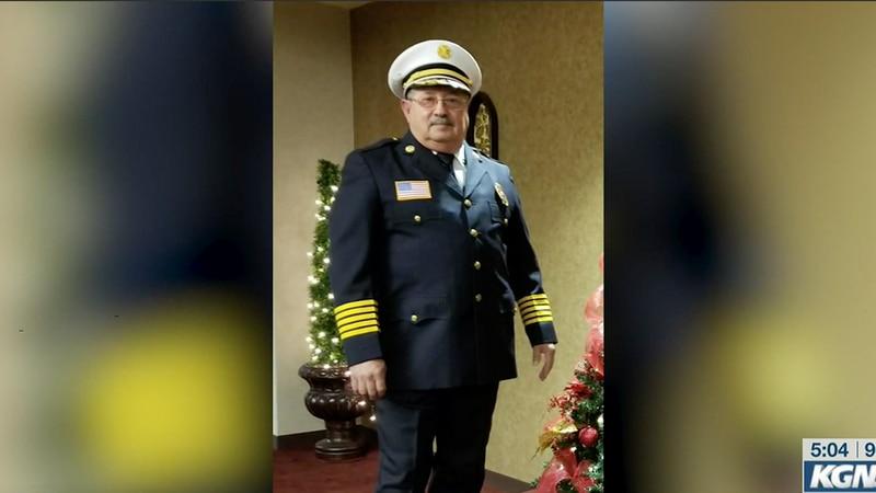 Zapata County Fire Chief Juan J. Meza