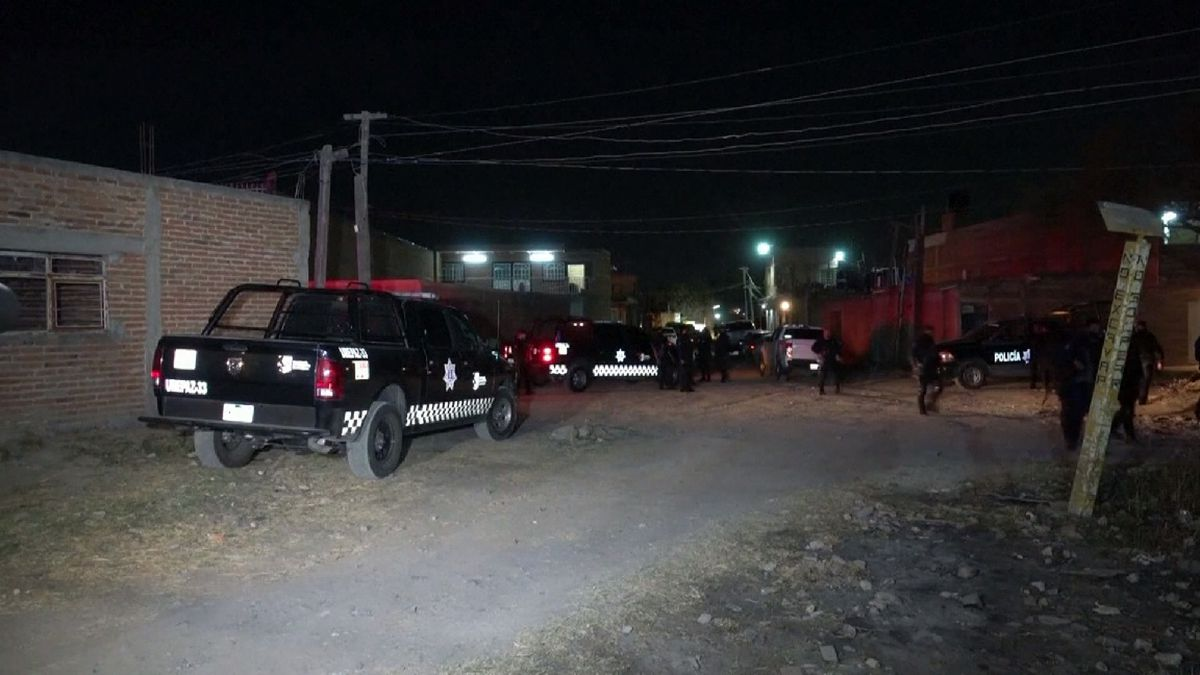 Eleven killed in drive by shooting in Mexico