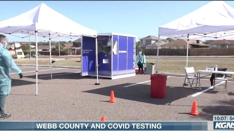 Webb County and COVID testing