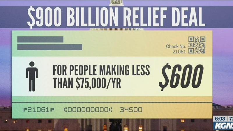 $600 stimulus deal
