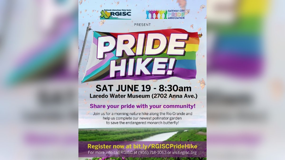 Community invited to pride hike