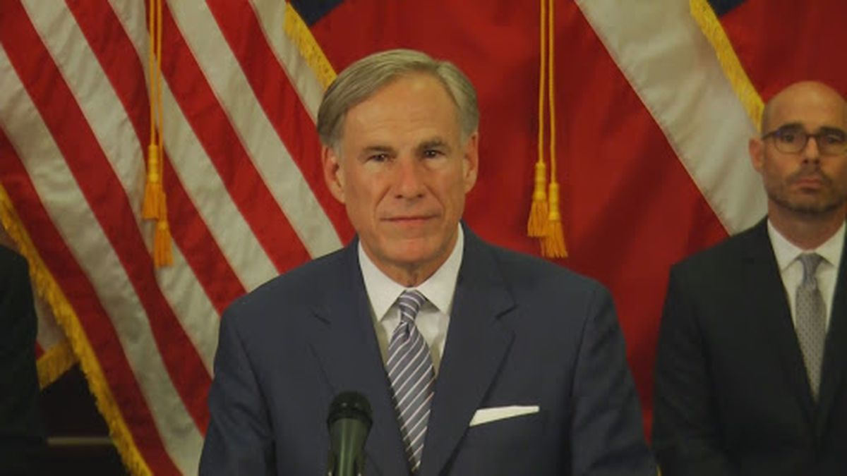 """On Monday night the Governor said Texas """"wouldn't have anymore lockdowns."""""""
