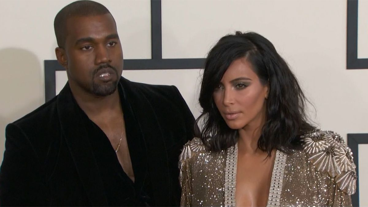Kanye West and Kim Kardashian are seen in happier days. The couple is reportedly getting ready...