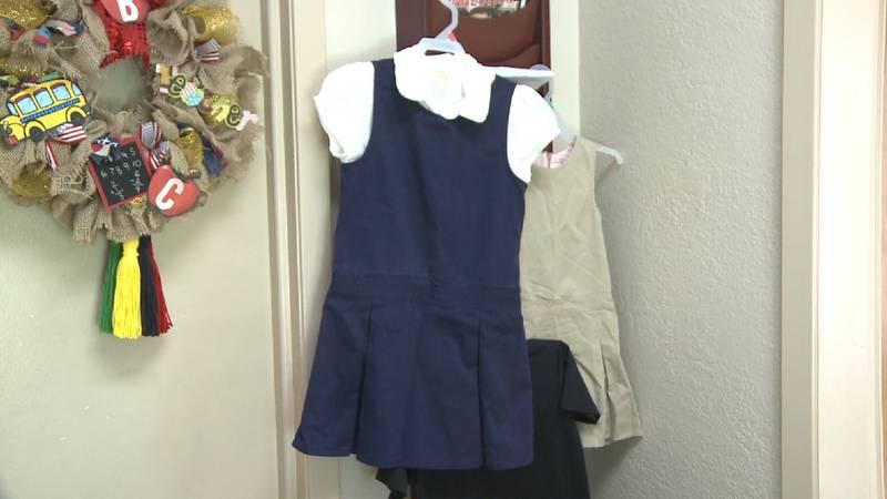 File photo: UISD school uniforms