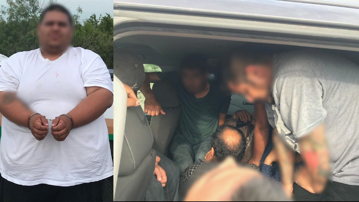 Driver arrested; 12 undocumented immigrants found inside truck