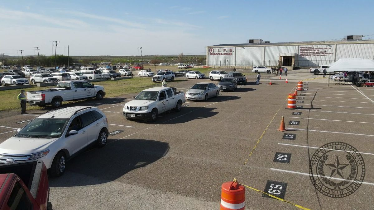 Residents line up for vaccine drive at Life Downs