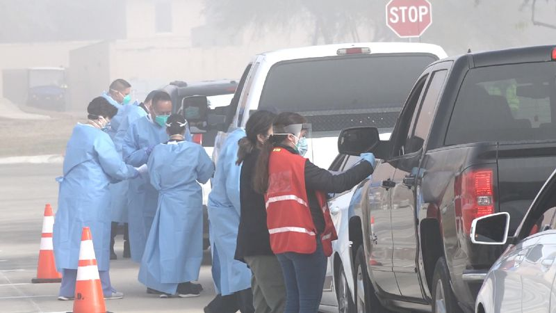 File photo: City of Laredo vaccine drive