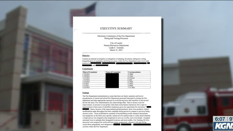 Firefighter exam investigation report comes to light
