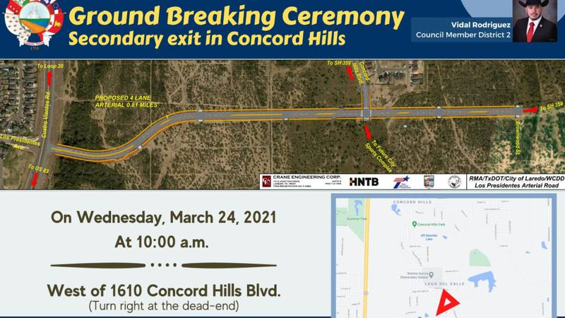 City to break ground on secondary Concord Hills exit