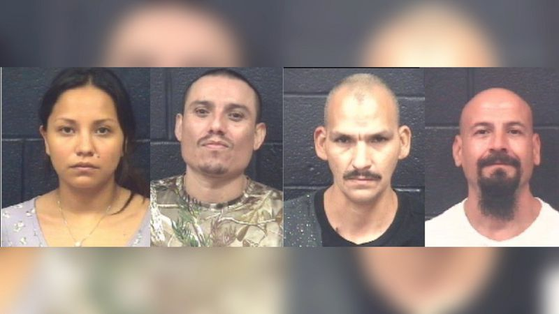 Four arrested in two separate drug busts
