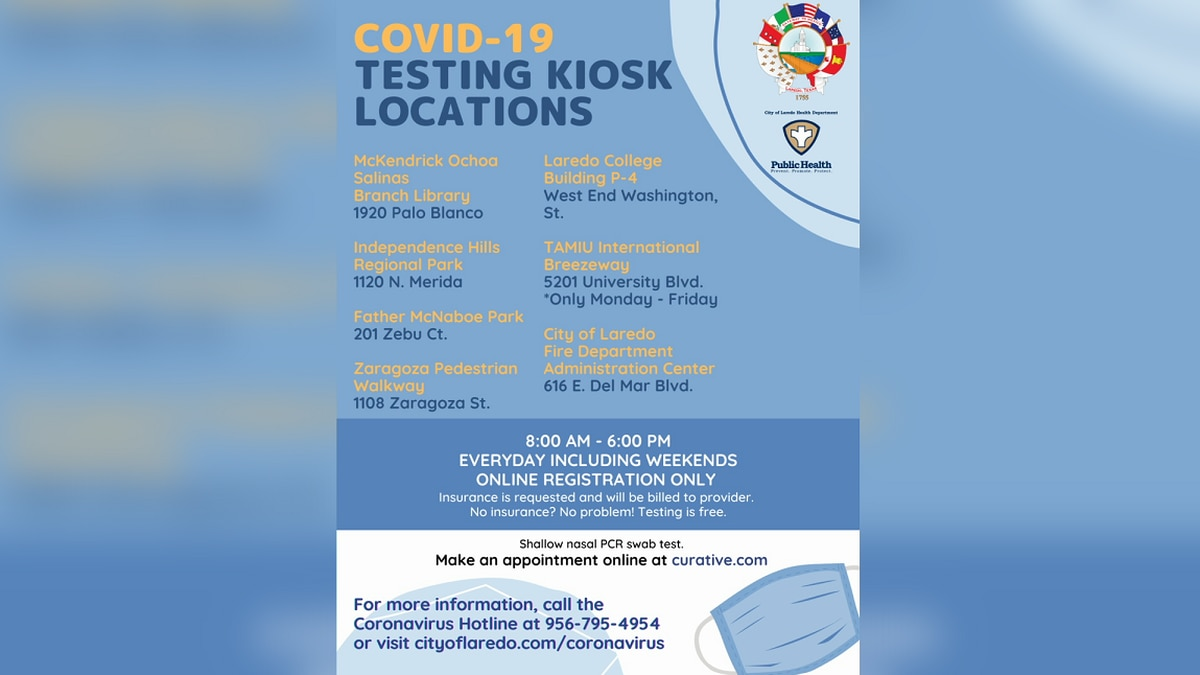 Curative Testing Kiosk Locations