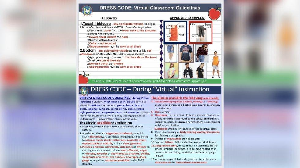 UISD releases student dress code