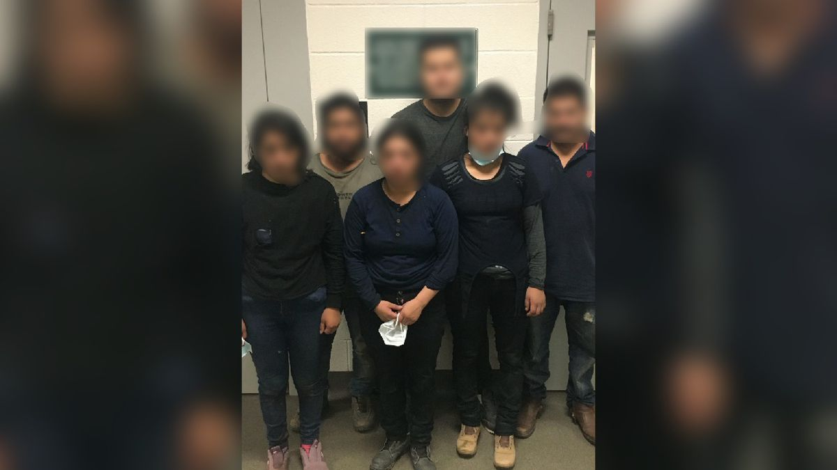 Agents find six undocumented immigrants hiding in the brush