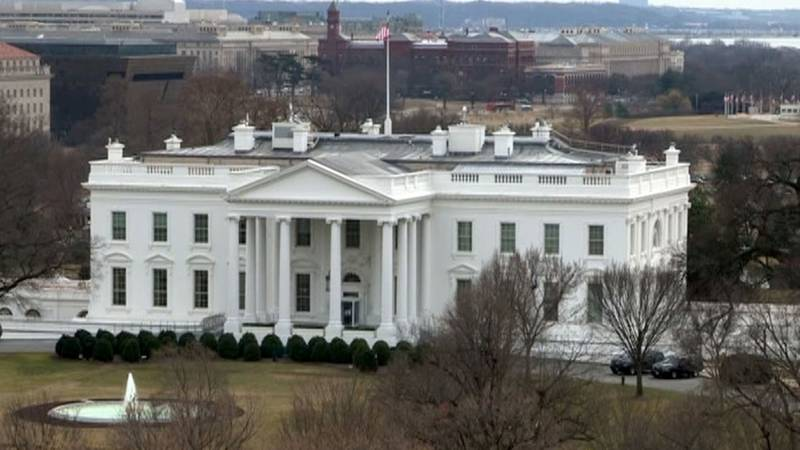 FILE - This file image shows the White House in Washington, D.C. A White House staffer's...