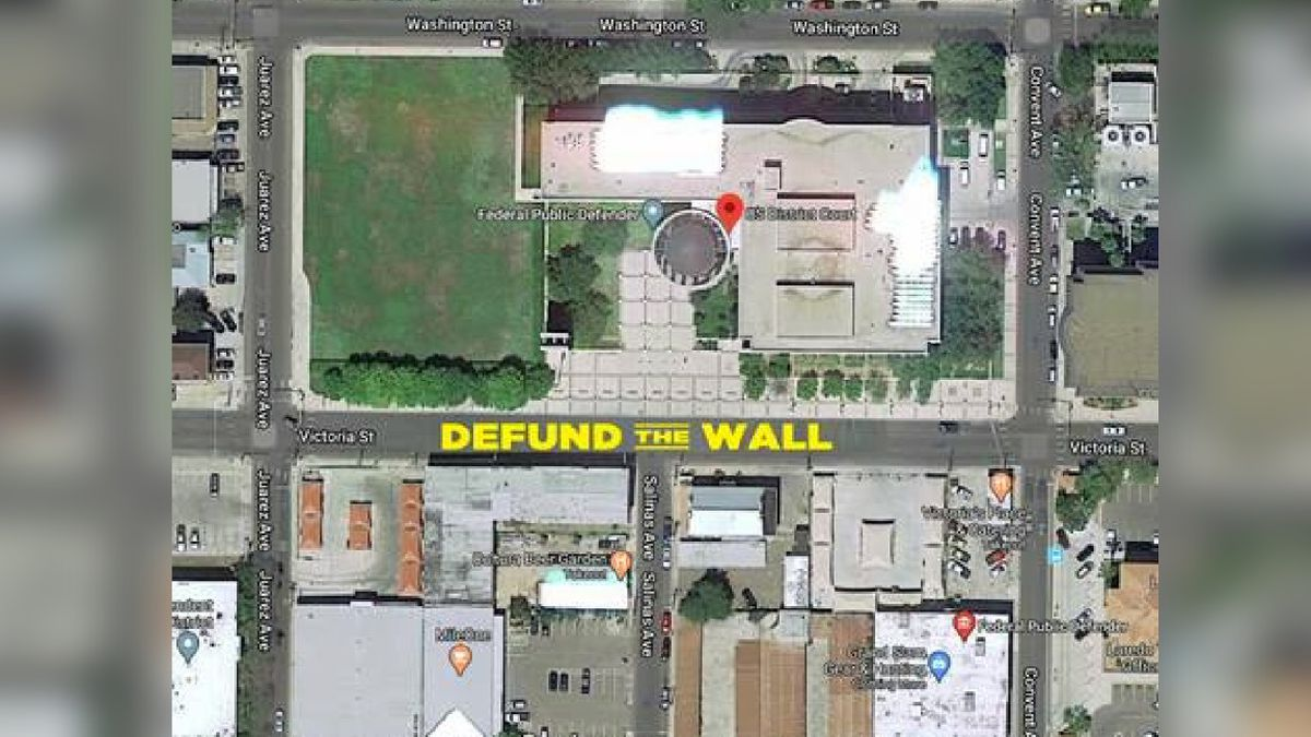 No Border Wall Coalition to put up street mural