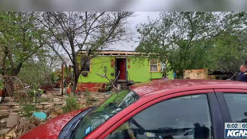 Zapata storm damage