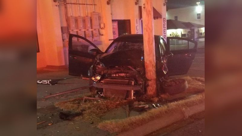 Accident on Saunders sends two people to the hospital