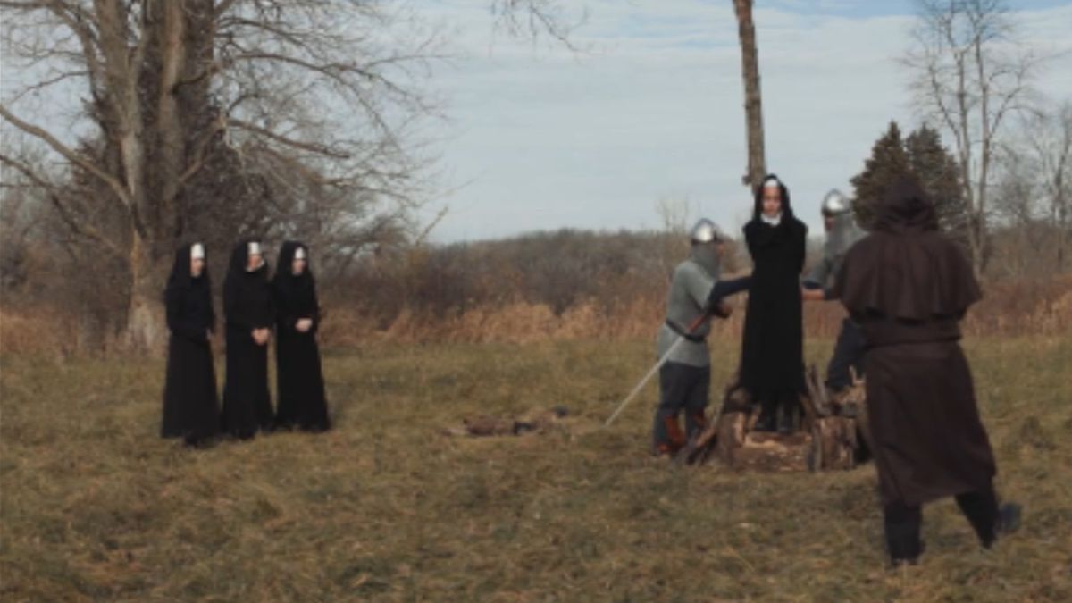 """""""Rana"""" is a story about a knight who meets a nun about to be burned at the..."""
