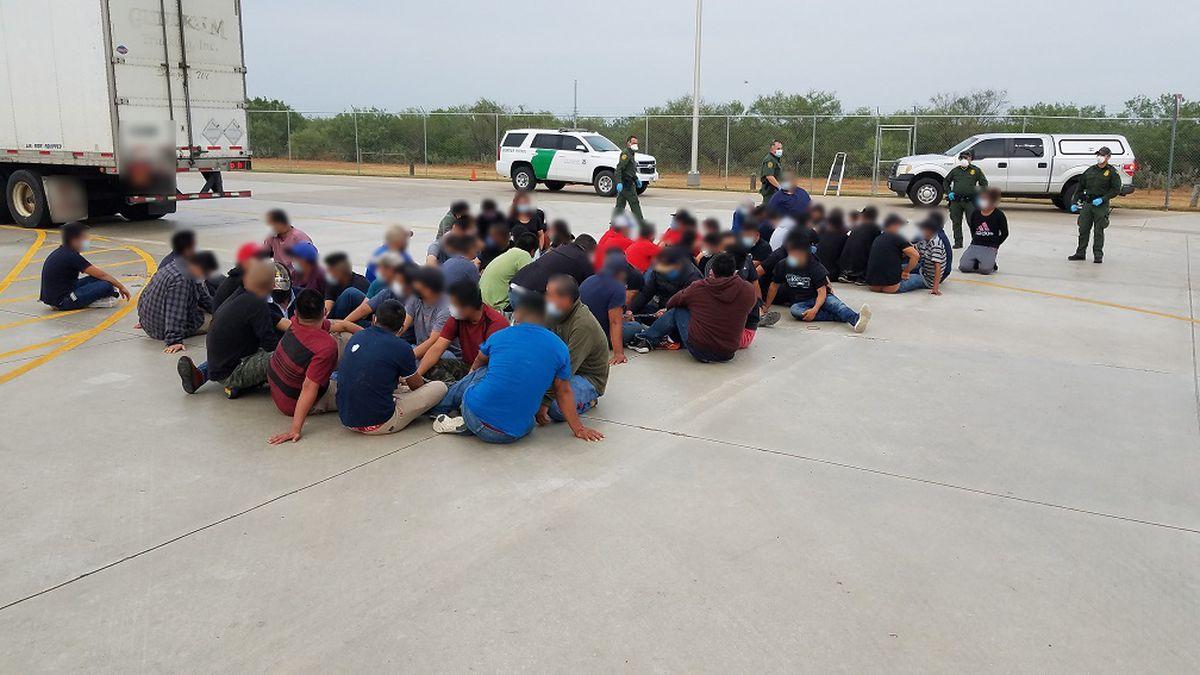 Border Patrol foils human smuggling attempt