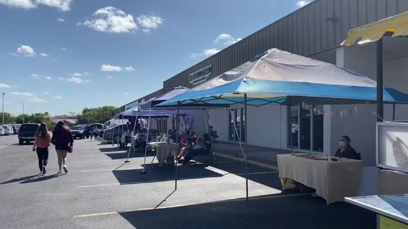 Local market providing a new way to shop local