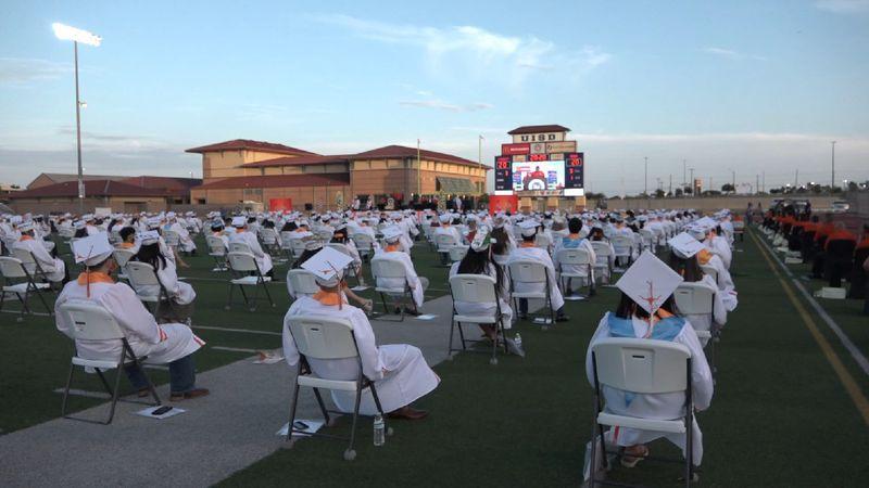 File photo: United High School 2020 graduation