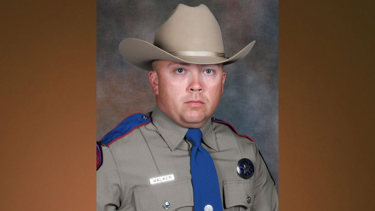 Texas Department of Public Safety Trooper Chad Walker was shot as he pulled over to assist a...
