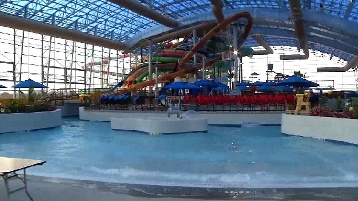 New indoor water park opens in North Texas
